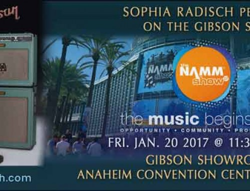 NAMM Gibson stage2017