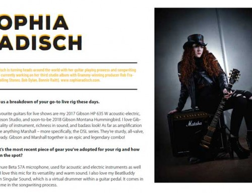 Canadian Musician Magazine Interview