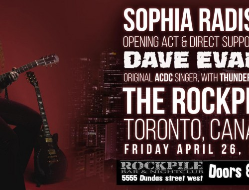 The Rockpile Toronto Avril